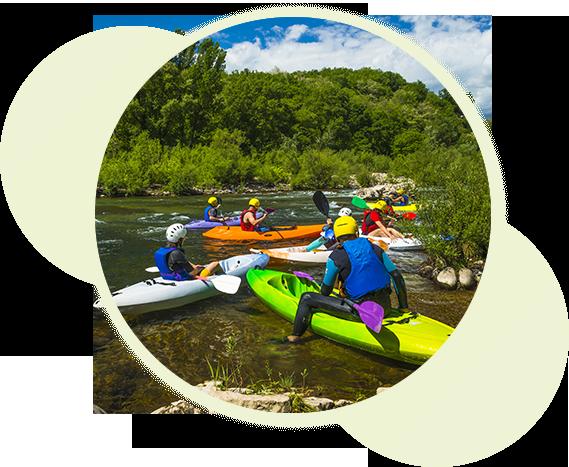 Les sports d'eau en Ardèche